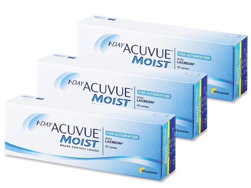 1 Day Acuvue Moist for Astigmatism (90lenses)