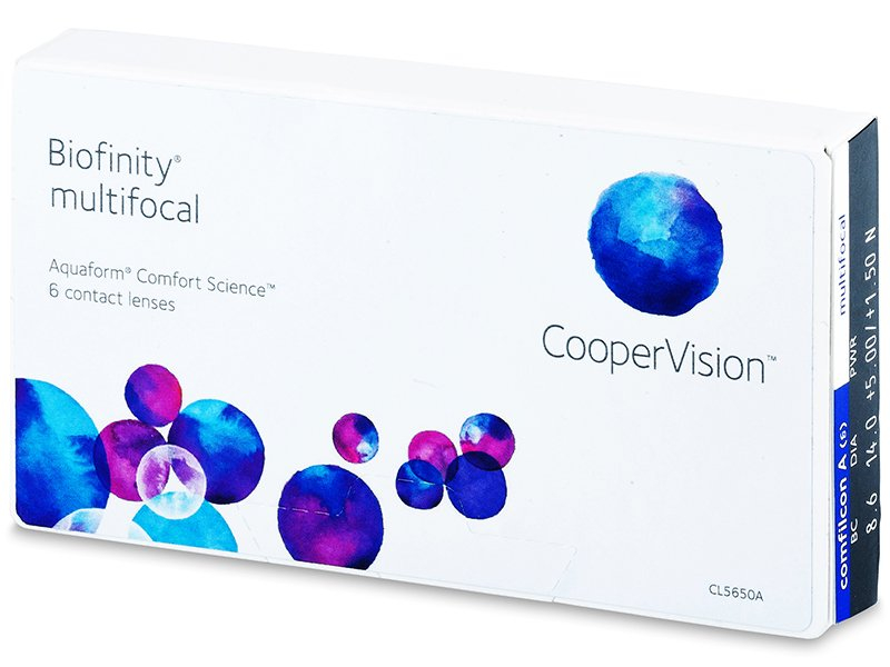 Biofinity Multifocal (6 lenses)