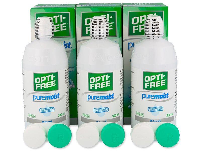 OPTI-FREE PureMoist Solution 3x300ml