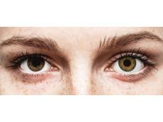 Brown Pure Hazel contact lenses - natural effect - power - Air Optix (2 monthly coloured lenses)