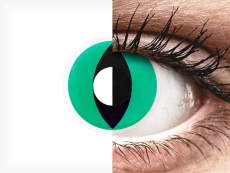 Green Anaconda contact lenses - ColourVue Crazy (2 coloured lenses)