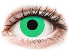 Green Emerald contact lenses - ColourVue Crazy (2 coloured lenses)