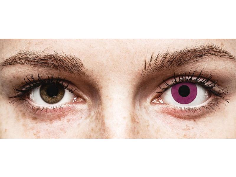 Purple contact lenses - ColourVue Crazy (2 coloured lenses)