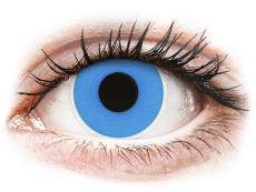 Sky Blue contact lenses - ColourVue Crazy (2 coloured lenses)