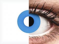 Sky Blue contact lenses - ColourVue Crazy (2 coloured lenses)