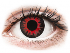 Red Volturi contact lenses - ColourVue Crazy (2 coloured lenses)