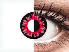 Red Volturi contact lenses - ColourVue Crazy (2 coloured lenses)