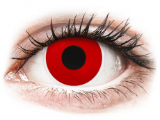 Red Devil contact lenses - power - ColourVue Crazy (2 coloured lenses)