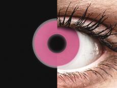 Pink Glow contact lenses - ColourVue Crazy (2 colouredlenses)