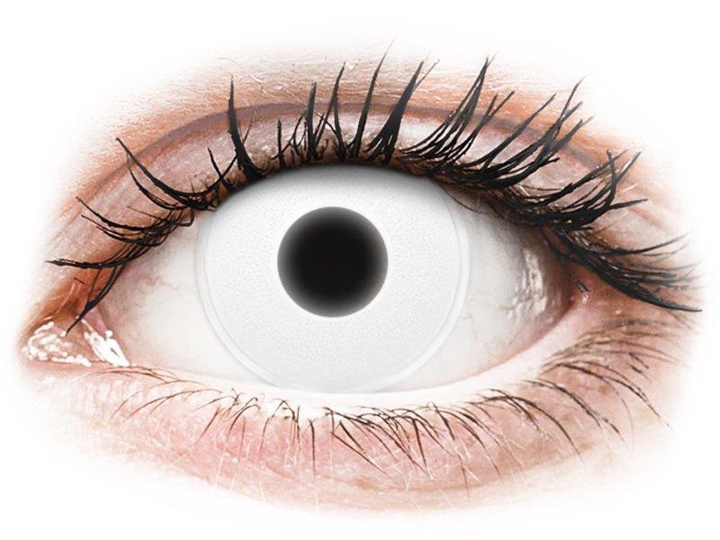 White Glow contact lenses - ColourVue Crazy (2 colouredlenses)