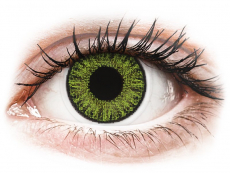 Fresh Green contact lenses - TopVue Color (10 daily coloured lenses)