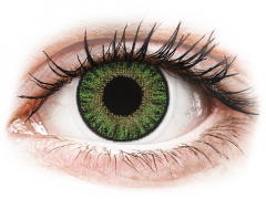 Green contact lenses - power - TopVue Color (10 daily coloured lenses)