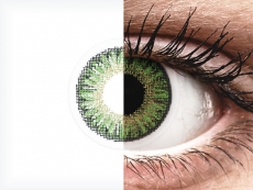 Green contact lenses - TopVue Color (10 daily coloured lenses)