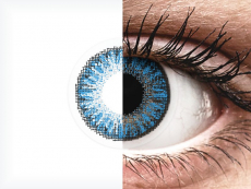 Sapphire Blue contact lenses - TopVue Color (10 daily coloured lenses)