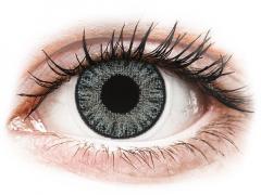 Soft Grey contact lenses - power - TopVue Color (10 daily coloured lenses)