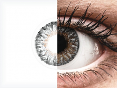 Grey contact lenses - TopVue Color (2 monthly coloured lenses)