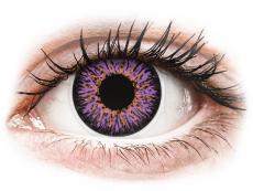 Violet Glamour contact lenses - ColourVue (2 coloured lenses)