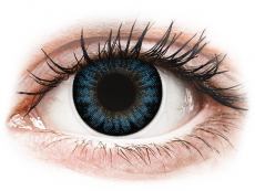 Cool Blue contact lenses - power - ColourVue BigEyes (2 coloured lenses)