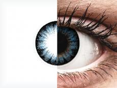 Cool Blue contact lenses - ColourVue BigEyes (2 coloured lenses)