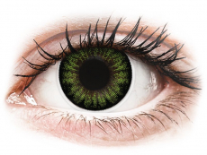 Party Green contact lenses - ColourVue BigEyes (2 coloured lenses)