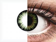 Party Green contact lenses - ColourVue BigEyes (2 coloured lenses)