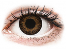 Brown 3 Tones contact lenses - power - ColourVue (2 coloured lenses)