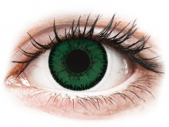 Blue Aquamarine contact lenses - SofLens Natural Colors - Power (2 monthly coloured lenses)