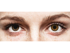 Brown India contact lenses - SofLens Natural Colors (2 monthly coloured lenses)