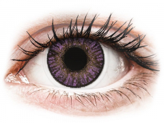 Purple Amethyst contact lenses - FreshLook ColorBlends (2 monthly coloured lenses)