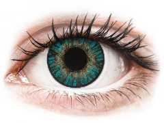 Turquoise contact lenses - FreshLook ColorBlends (2 monthly coloured lenses)