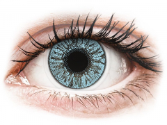 Blue contact lenses - FreshLook Colors (2 monthly coloured lenses)