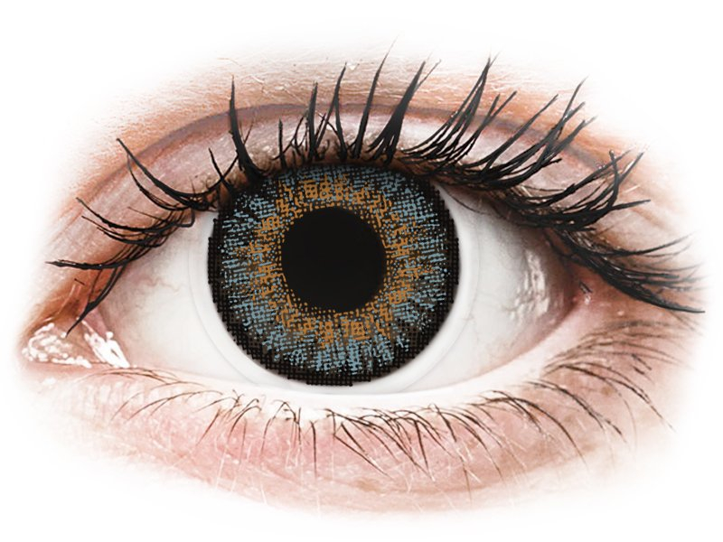 Blue contact lenses - FreshLook One Day Color (10 daily coloured lenses)