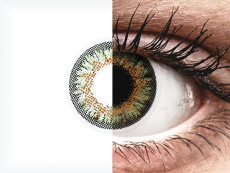 Green One Day TruBlends contact lenses - ColourVue - Power (10 coloured lenses)