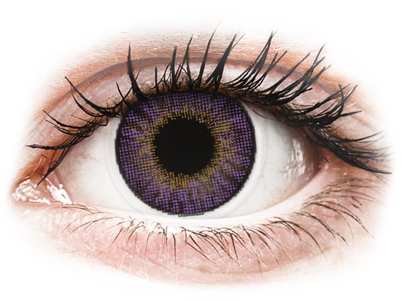 Air Optix Colors - Amethyst - power (2 lenses)