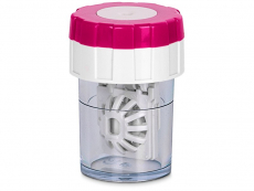 Lens Case Twist Top - Pink