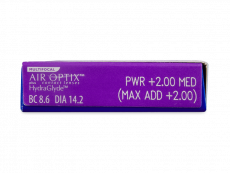 Air Optix plus HydraGlyde Multifocal (6lenses)