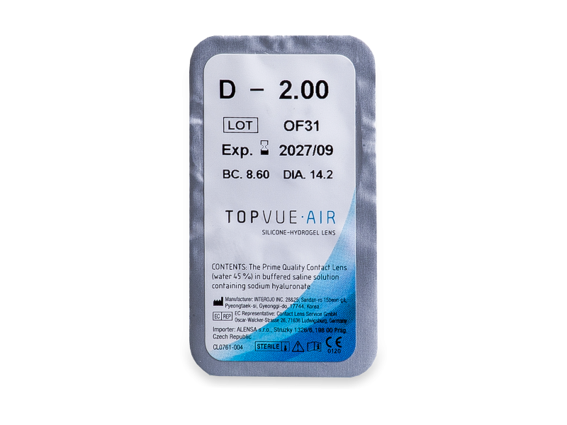 TopVue Air (6 lenses)