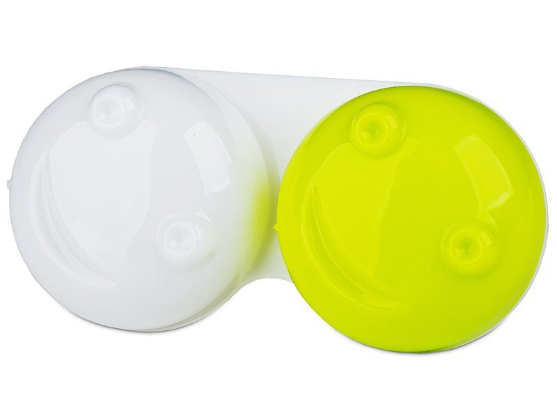 Lens Case 3D - yellow