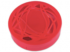 Lens Case with mirror - red ornament