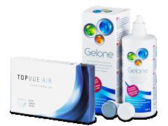 TopVue Air (6 lenses) +GeloneSolution360ml