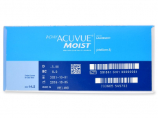 1 Day Acuvue Moist (180 lenses)