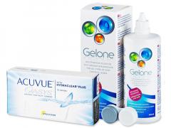 Acuvue Oasys (12 lenses) + Gelone Solution 360 ml