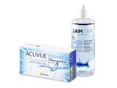 Acuvue Oasys for Astigmatism (12 lenses) + Laim-Care Solution 400 ml