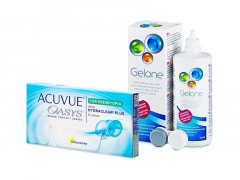 Acuvue Oasys for Presbyopia (6 lenses) + Gelone Solution 360 ml