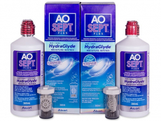 AO SEPT PLUS HydraGlyde Solution 2 x 360 ml