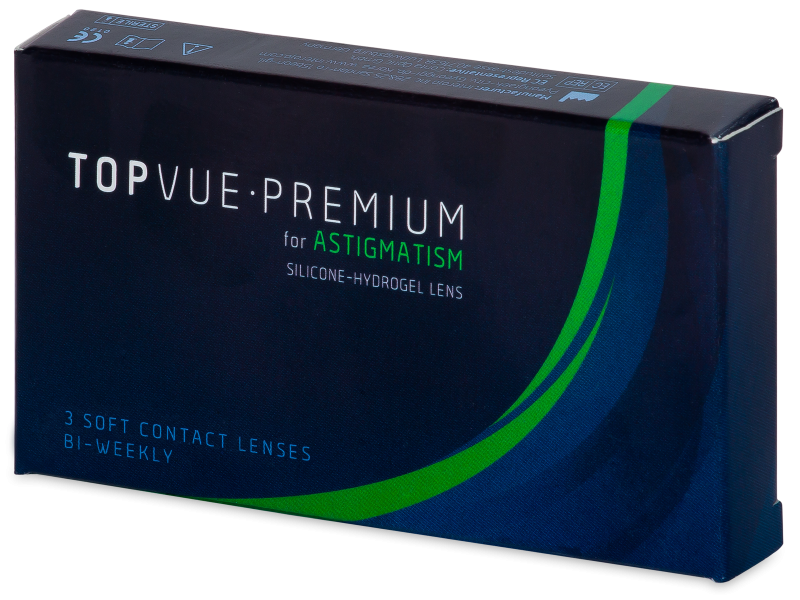 TopVue Premium for Astigmatism (3 lenses)