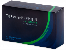 TopVue Premium for Astigmatism (6 lenses)
