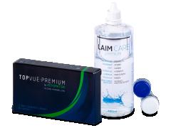 TopVue Premium for Astigmatism (3 lenses) +Laim-Care Solution400ml