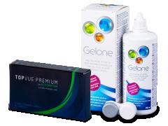 TopVue Premium for Astigmatism (3lenses) +GeloneSolution360ml