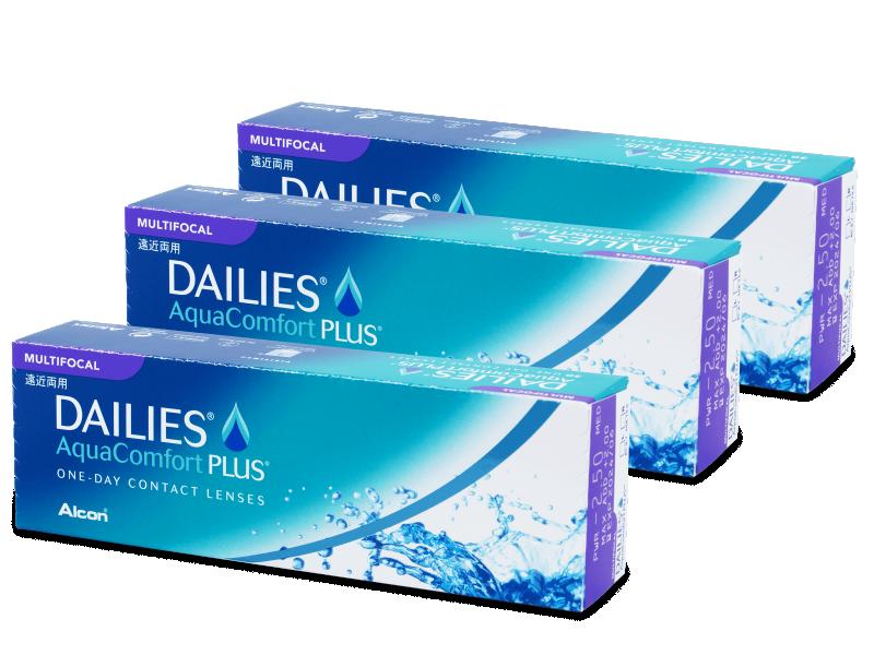 Dailies AquaComfort Plus Multifocal (90lenses)